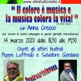 """""""Teatro in voce"""" Anna Crecco,  Peppe Loffredo e Salvatore Giordano"""