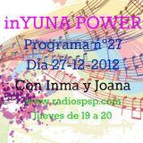 inYUNA POWER DÍA 27-12-12 Prog.27