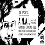 Cannibal Cooking Club (Live PA) @ PEA - A.R.M. Kassel - 24.02.2018