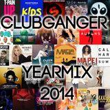 Clubganger - Yearmix 2014 (Charts, Pop & Lieblingslieder)