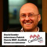 David Semler interviews Patrick Harvie MSP, 10 Feb 2017