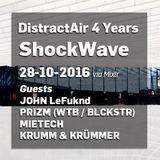 DistractAir - JOHN LeFuknd  - SHOCKWAVE 28.10.2016