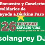 Sesión ElectroFolk Conexión Africa - Concierto Solidario por Burkina Faso en Espacio Vías (León)