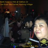 Taishi K & VNA Live from Defcon 22 Packet Hacking Village - The Cyberfunk Mix - Fri. August 8th 2014