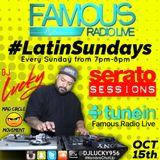 DJ Lucky - Latin Mix (Famous Radio Live) #LatinSundays 10.15.17