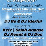 Celebrate 1 Year Anniversary Mixtape