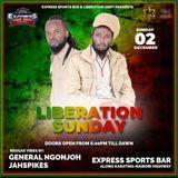 Dj Jahspikes and Mc Moziah liberation Sundays unplugged