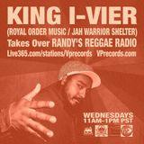 2-5-14 KING I-VIER TAKES OVER RANDY'S REGGAE RADIO!