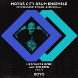 MCDE B2B Mr. Scruff, XOYO, 8 December 2017