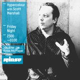 Hypercolour Rinse FM - 21st July '15 - Special Guest mix from Scott Marshall (Third Ear)