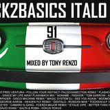 Back2Basics Italo Mix 91 Tony Renzo