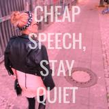 Cheap speech, stay quiet - loungy mix