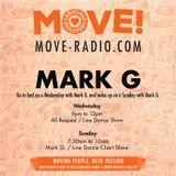 Mark G line dance request show on Move radio