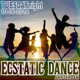 Ecstatic Dance Amsterdam - Tuesdaynighter - Dj Martyn Zij - 10-06-2014