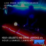 samuel lawrence and soulbotic live Interdependance Day 7-2-17