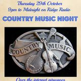 Country Night on The Russ Evans Music Show 29th October 2015
