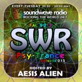 SWR Psy-Trance FM - hosted by Aesis Alien - Episode 015