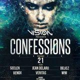 dj's Jean Delaru & Veritas @ Vision - Confessions 21-02-2014