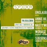 Subsense Club Spora Tech / Club House Warm Up Mix 28th June 2018