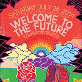 Malin Genie live @ Welcome to the Future Festival 2014 (Twiske, Amsterdam) - 26.07.2014