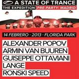 Alexander Popov - Live at ASOT 600 The Expedition (Florida Park, Madrid) - 14.02.2013