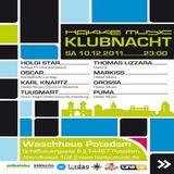 Thomas Lizzara @ Hakke Musik Klubnacht - Waschhaus Potsdam - 10.12.2011