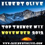 Albert Olive - Top Trance Mix November 2012