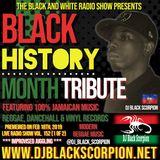 Black History Month Tribute (Modern Reggae) on The Black and White Radio Show Vol. 152 (2-18-19)