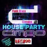 Dimao House Party Spéciale Funk Disco Sur TSF98 Emission du 25.05.2017.