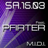 M.I.D.I. @Nox Music Club w Pfirter