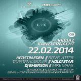 Alexander Weinstein @ Kiddaz Meets Kanzlernacht 09 - Tresor Berlin - 22.02.2014