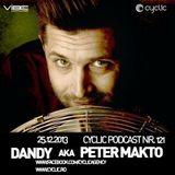 Dandy aka Peter Makto - Cyclic Podcast Episode Nr 121 2013.12.25.