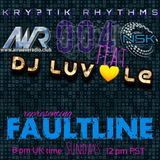 DJ LUV-le for Kryptik Rhythms and Night Spin Kollective on Airwave Radio