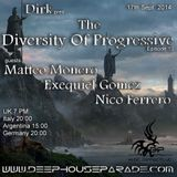 Matteo Monero - Guest Mix - The Diversity Of Progressive 13 (17th Sept. 2014) on Deep House Parade