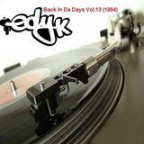 DJ EDY K - Back In Da Days Vol.13 (1994) 90s Hip Hop,Boom Bap,Pete Rock,Ice Cube,Nice & Smooth..
