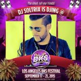 DJ Soltrix - Live at Los Angeles BKS Festival 2015