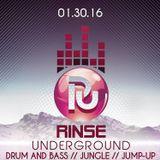 B3LLAB3AT - RinseUnderground Event Promo
