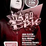 Kriz Miller @ Hard Epic - Twenty Fourteen Club, Dortmund 10.10.2014 (113 Minuten Hardtechno Mix.)