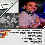 David DTX B2B Dj Ricardo 4-11-2017 Reset 2 Aniv. Vincent Tracks