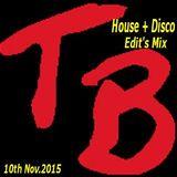 House & Disco edits mix 10th Nov. 2015