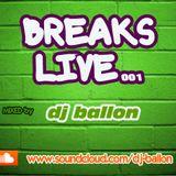 BREAKS LIVE 001