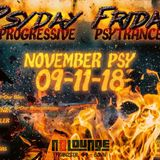 2018-11-9 DJessy b2b Phoenix @ Psyday Friday Big Birthday Bash - n8loung