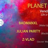 Julian Parity :::: Planet X Techno #2 @ 4 Elements, Paris (15/01/16)