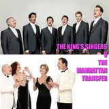 The Acoustic Hour - 9-Nov-2018 - The King's Singers and The Manhattan Transfer