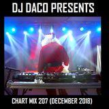 DJ Daco Presents Chart Mix 207 (December 2018)