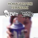FEMALE MCs SPECIAL | TRACKSIDE BURNERS & ITCH FM RADIO SHOW #43 10-AUG-2014