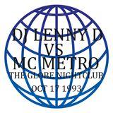 LENNY D VS MC METRO [GLOBE NIGHTCLUB BRISBANE]. SIDE A
