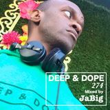 Deep Soulful House Music Chill Lounge Playlist Mix by JaBig  - DEEP & DOPE 274