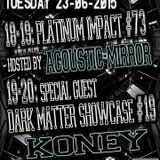 Koney Dark Matter Showcase on Gabber.FM 23/06/2015
