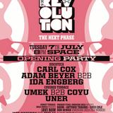 Adam Beyer & Ida Engberg - Live @ Music Is Revoluiton Opening Party, Space (Ibiza) - 07.07.2015